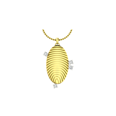 Ellipse Fingerprint Pendant (1)