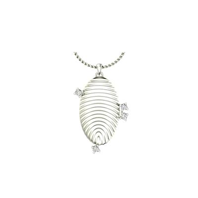 Ellipse fingerprint pendant mozeypictures Image collections