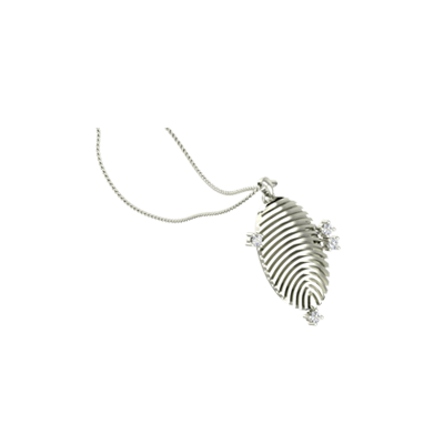 Ellipse Fingerprint Pendant (6)