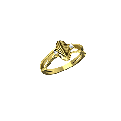 Customized diamond couple rings for wedding in yellow and white gold, Available in 14k and 18K