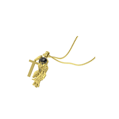 Unique Ben Initial Pendant Online in india. Free shipping across india