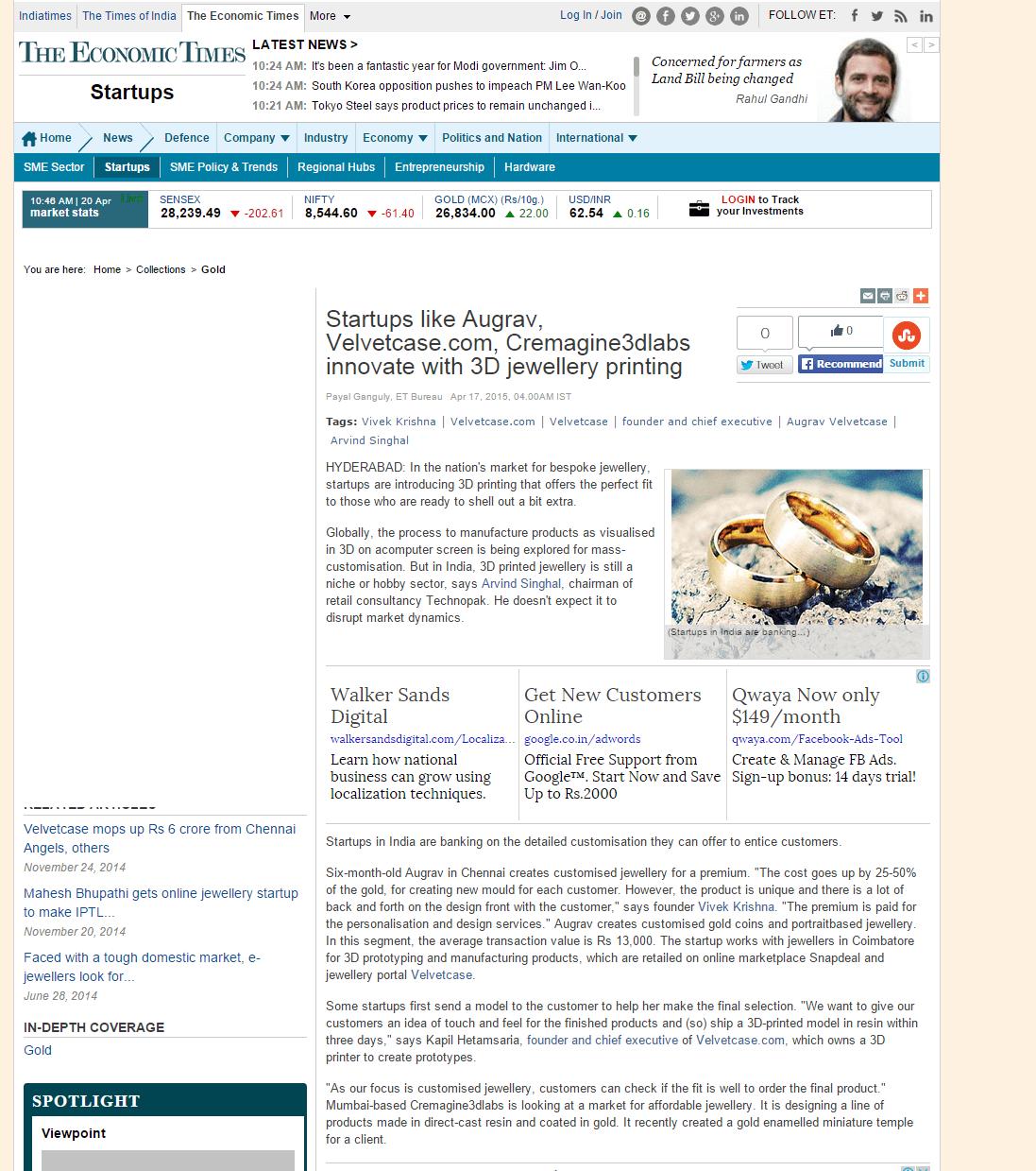 economictimes-customised-jewellery-3d-printing-augrav