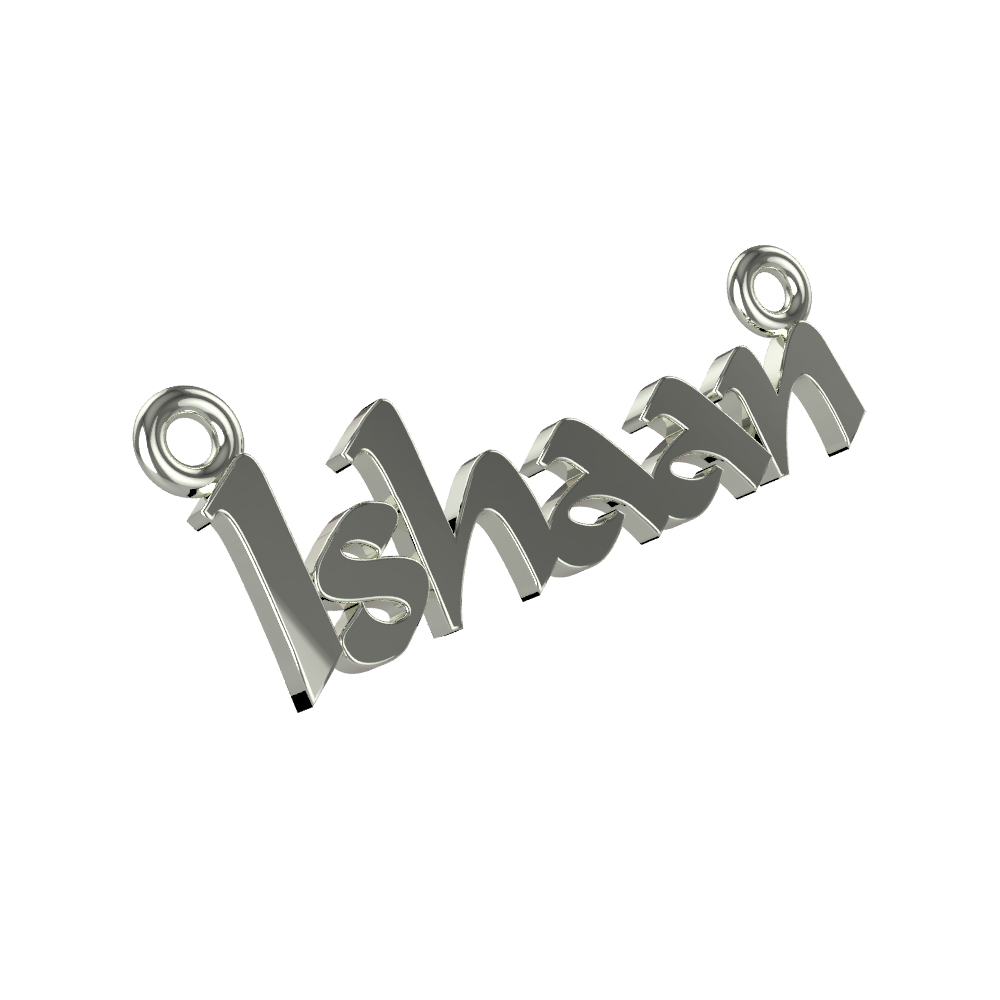 Name Rakhi For Rakshabandan In Silver