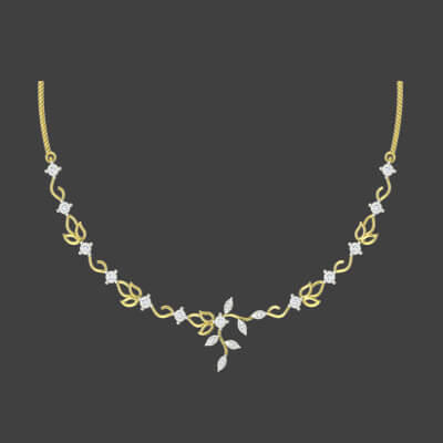 Classic Diamond Necklace Set