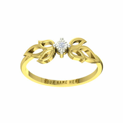 couple rings with engraved names for wedding anniversary and engagement. Free shipping across india