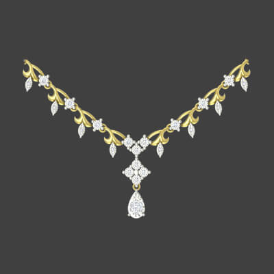k necklace raj jewels uncut kaea arika diamond