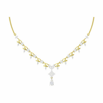 latest gold necklace designs for brides in indian wedding at aurgav.com