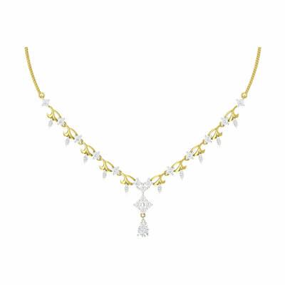 latest gold necklace designs for brides in indian wedding at aurgav.com