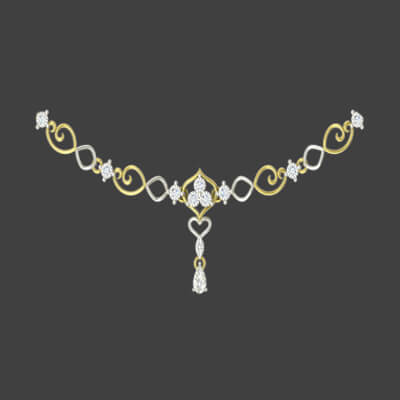 indian gold necklaces for girls for wedding and engagement in india. price valid across chennai,pune,mumbai,hyderabad