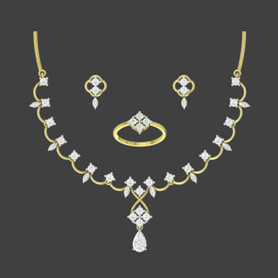 indian bridal gold necklace sets for wedding