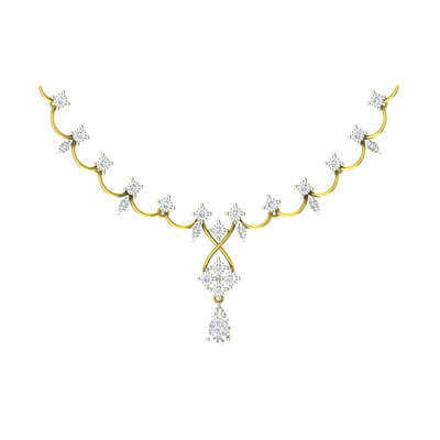 gold jewellery necklace online shopping