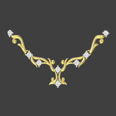 Perfect Diamond Necklace Set