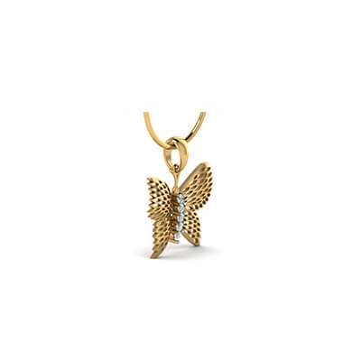 Gold pendant designs for new born girl in india. Free shipping in chennai,hyderabad,kolkata,pune and delhi