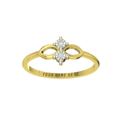 unique engagement ring with name for men and women at best price at augrav.com