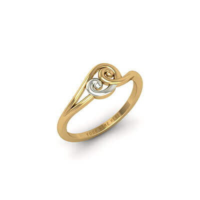 Royal Gold Name Ring AuGrav