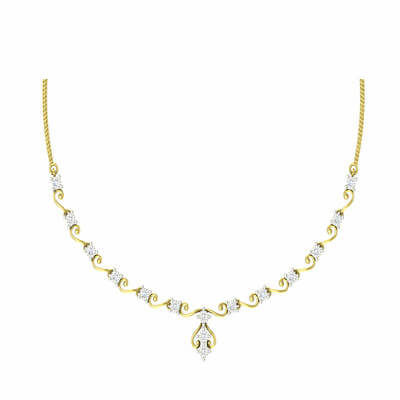 Uncut diamond necklace set in india with 18k and 22k for women and ladies