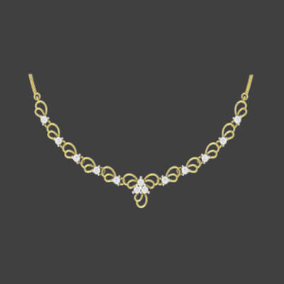 gold necklace designs for ladies in india with diamond. free shipping in delhi,chennai,mumbai and hyderabad