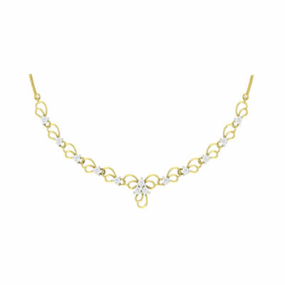 necklace designs in gold for women with price in online india at augrav.com. Free shipping across india