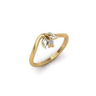 Gold wedding rings for men with name in white and yellow gold. Unique designs at augrav.com