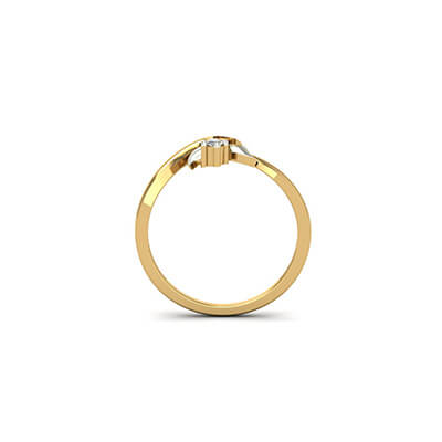 gold engagement rings with names in india online at best prices at augrav.com