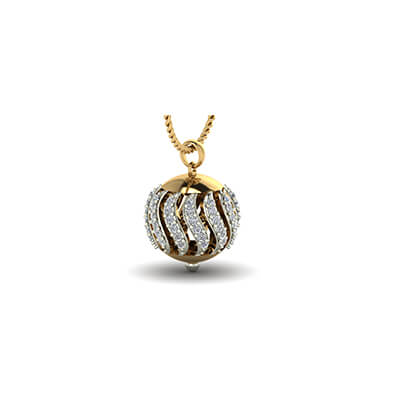 Your name ball pendant 22k yellow gold pendant design for men and women in online at augrav mozeypictures Choice Image