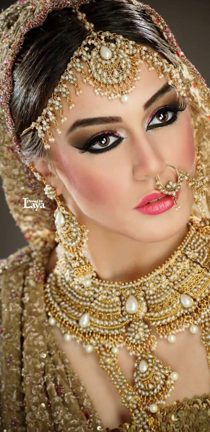 Gold Necklace For Indian Bride