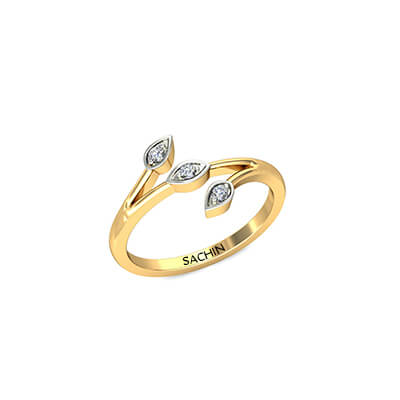 Modern gold ring designs for women in india