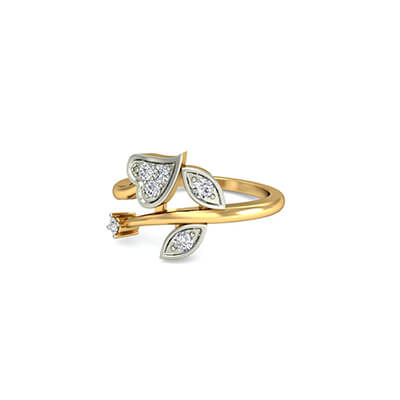 Heart shaped diamond wedding rings in india
