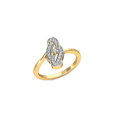 Unique Designer diamond ring for wedding and engagement. Available in 14K 18K and 22K