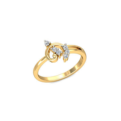 Latest Wedding Ring With Pure Diamond For Her Engrave Able Promise Rings  For Couple India. With Pure Gold And Diamond ...
