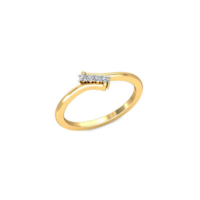Diamond name rings for indian couples. Unique and latest collections in online at augrav.com