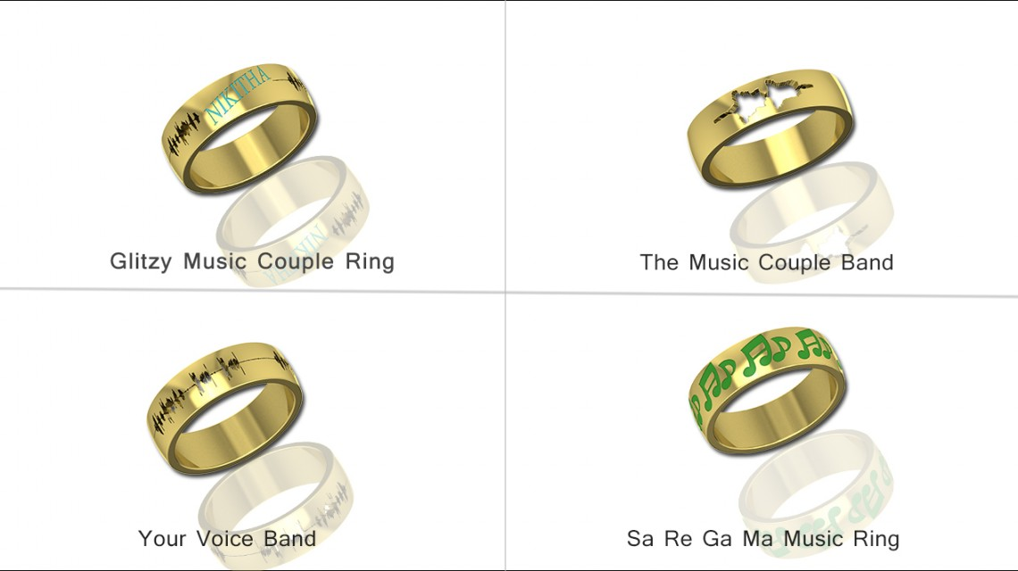 How To Get Your Voice Wave Form Ring For Wedding Made In India