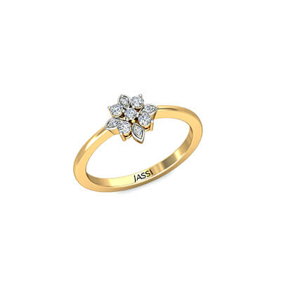 First anniversary finger diamond rings online