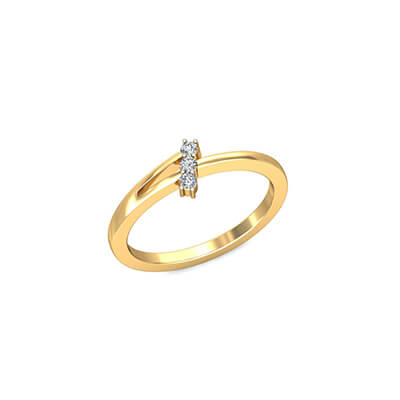 Gold rings with initials and name for women. Unique wedding and engagement ring collections.