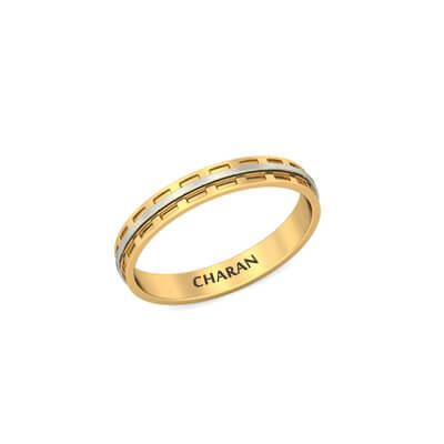Buy Unique Mens Wedding Rings In Gold & Diamond line India