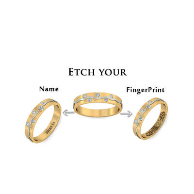 The Subtle Rings With Name Engraving (2)