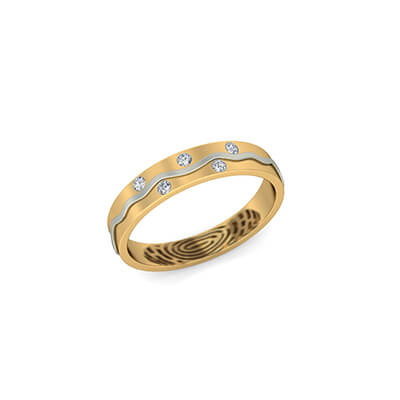 The Subtle Rings With Name Engraving (3)
