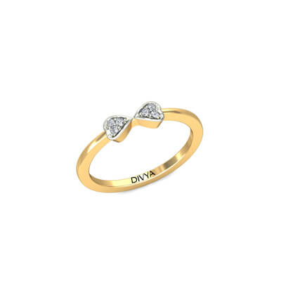 ring rings two diamond wedding row band w