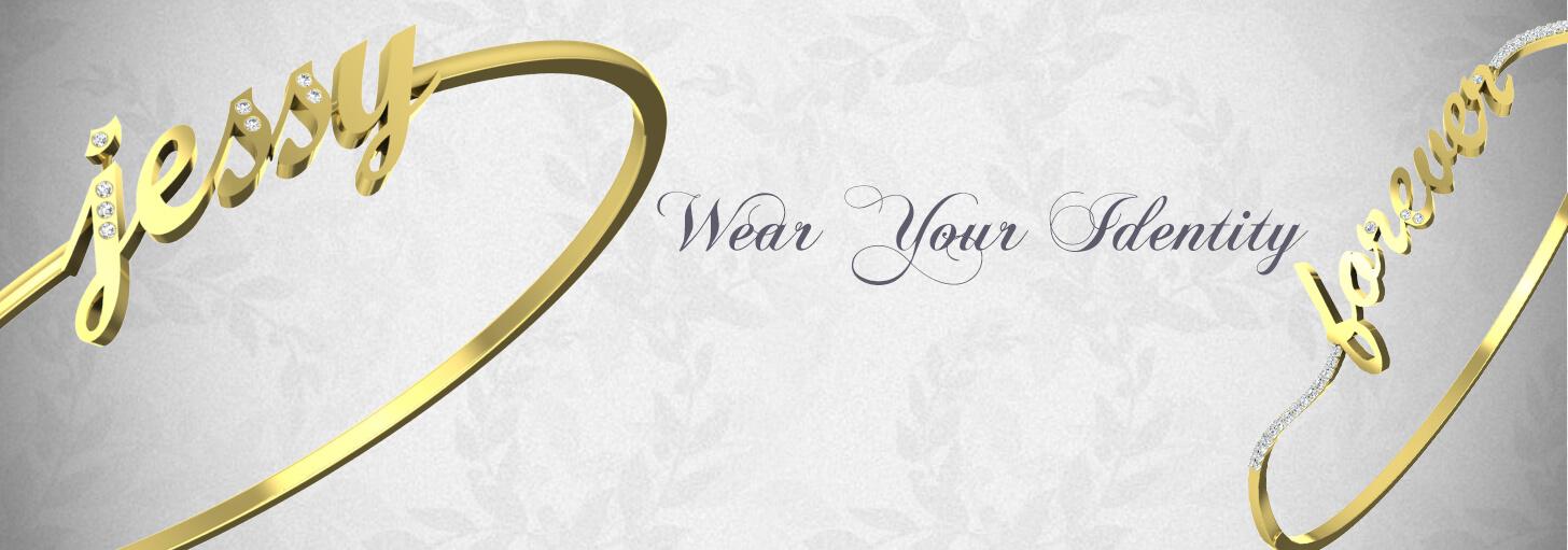 Customized Gold bracelet In Online India | Name Gold Bracelets For ...