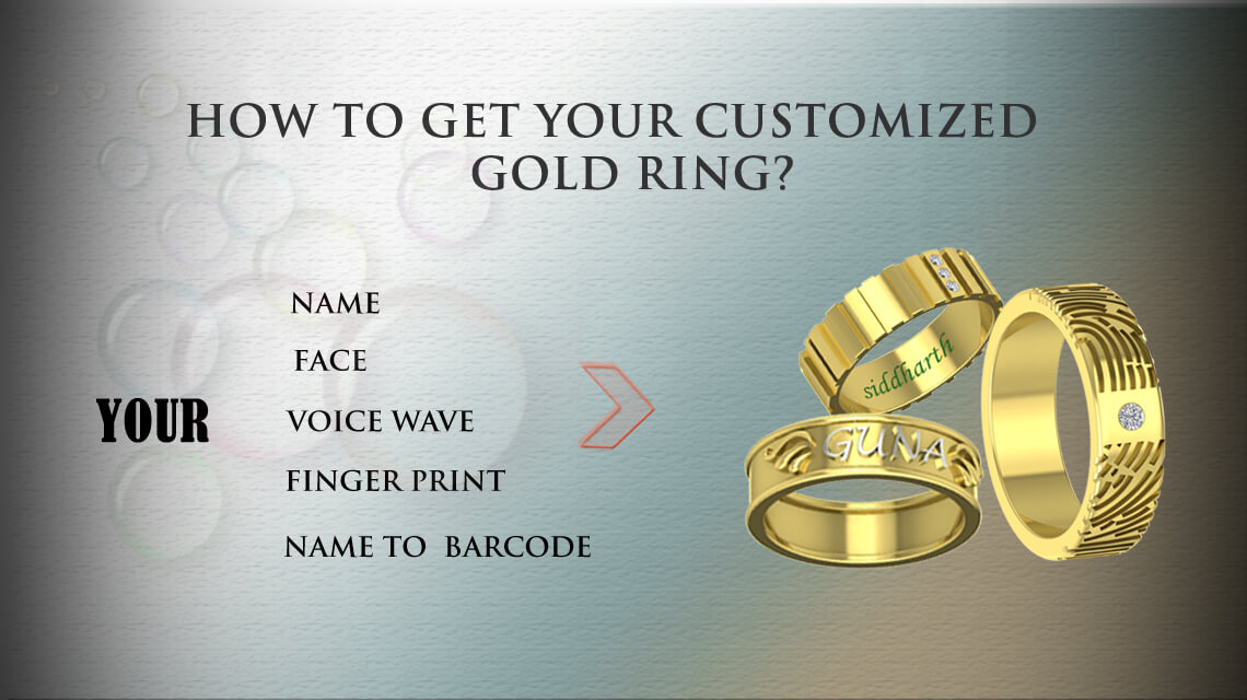 how to get customized rings in online india - process