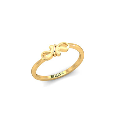 Couple Rings In Gold For Wedding and Engagement