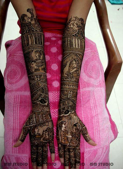 Madras mehandi studio - Bridal artist