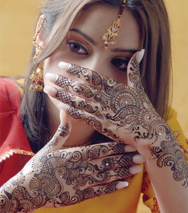 bridal mehandi designer chennai