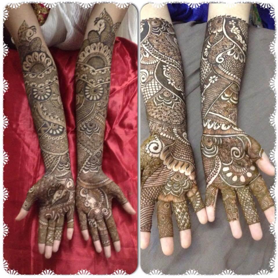 noorjahan Mehendi designs