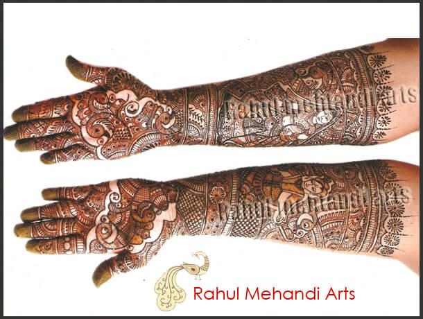 rahul mehandi arti for indian brides