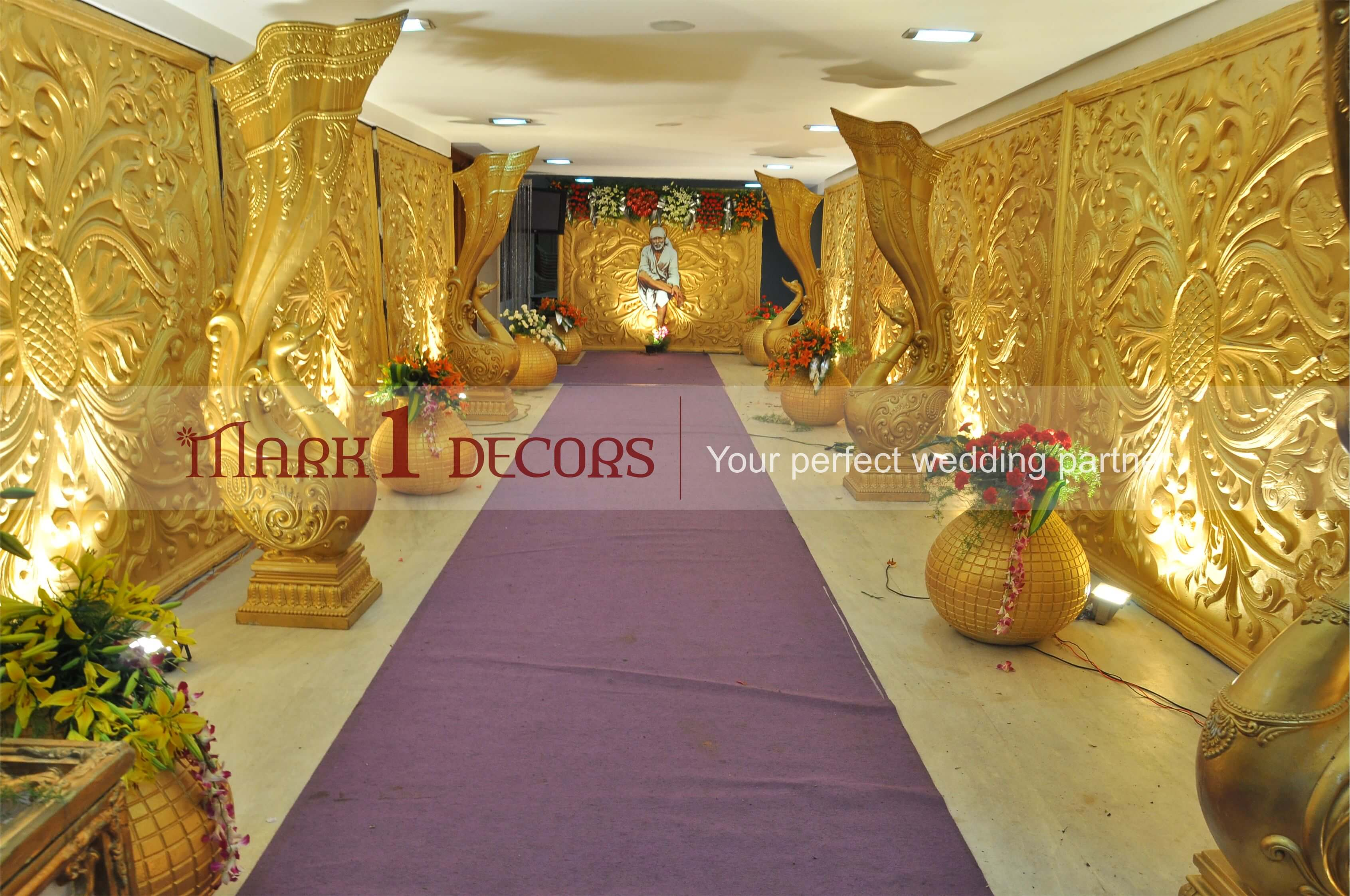 Mark 1 Decor chennai wedding planner