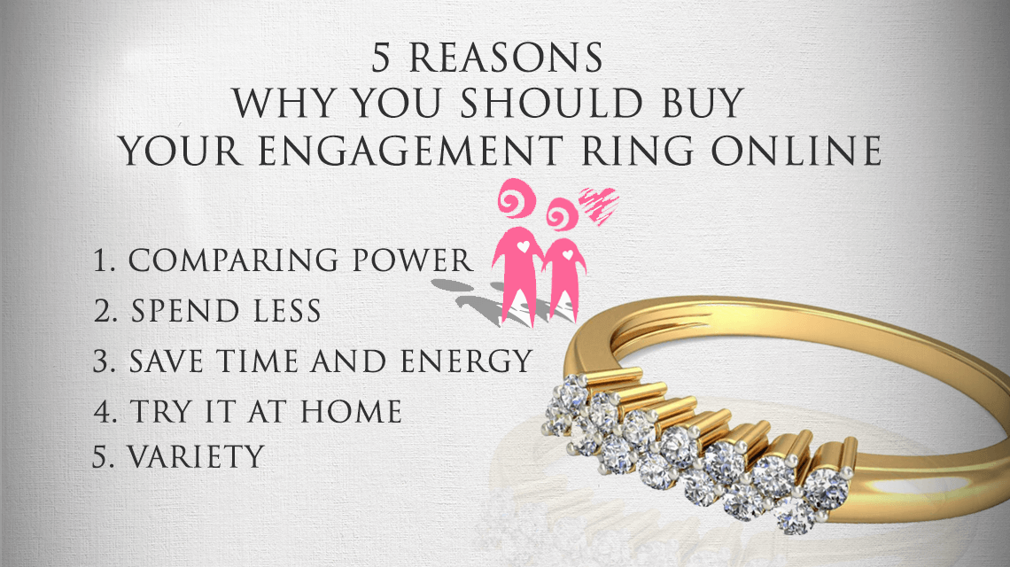 5 Reasons To Buy Your Engagement Ring Online India