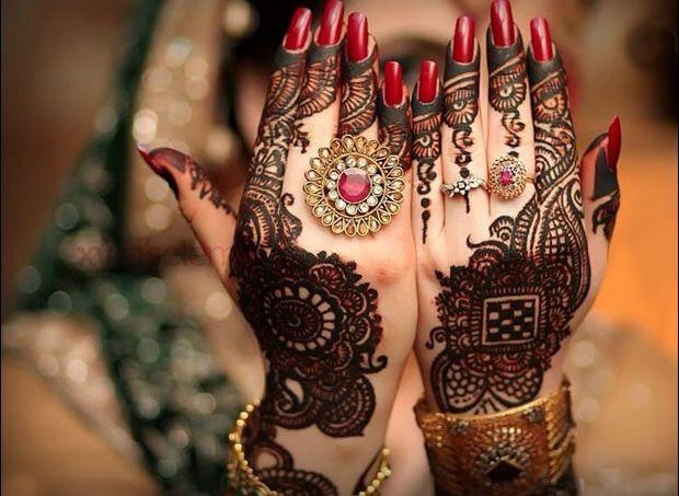 Beautiful punjabi mehandi designs