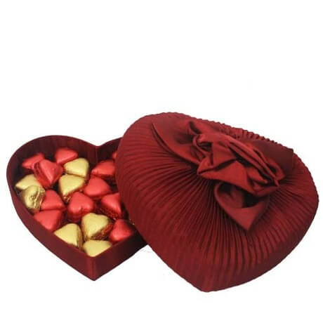Chocolate box for your girlfriend on valentines day