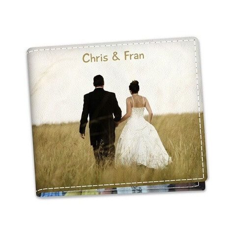 Personalized photo wallet for him on lovers day